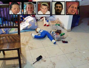 Fogel victims, family home after attack