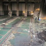 The Burned Mosque Interior