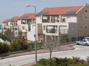 The Ulpana neighborhood in Beit El