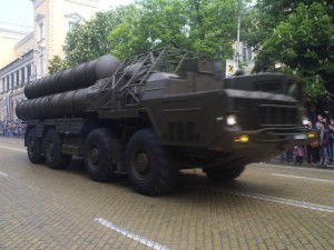 S300 on parade in Moscow